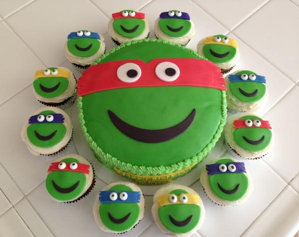 Ninja Turtles Cupcakes Cake Ideas And Designs